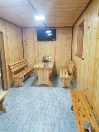 Новая семейная баня на дровах -3000 тенге час. Теплые полы