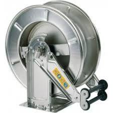 Rola automata (tambur) inox AISI 304, apa max 150 grd C, 20 mt