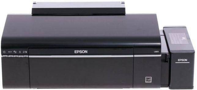Очень срочно! Принтер Epson L805 черный куплена была 05/ 21года