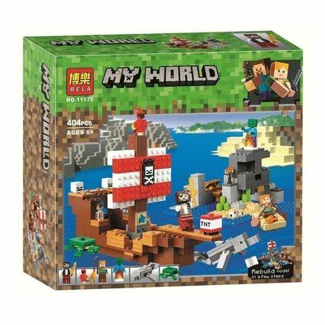 Конструкторы Lego Minecraft (Лего Майнкрафт)