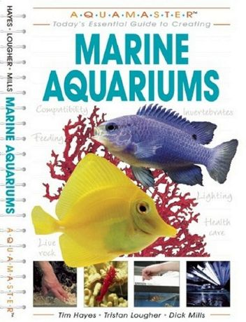 Super carte Acvarii marine, acvariu pesti marini, in limba engleza