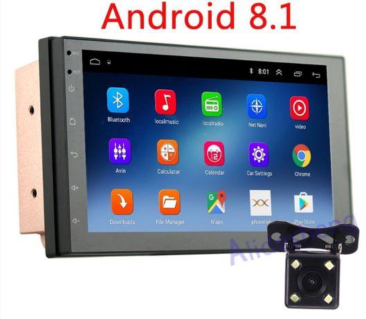Универсална мултимедия за кола. GPS, Android 8.1, камера за заден ход. гр. Пазарджик - image 2