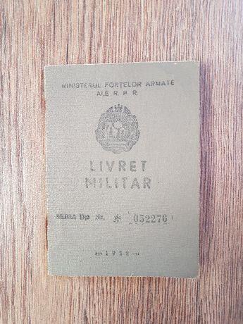 Livret militar RPR anii '50