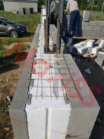 Сетка кладочная стеклопластиковая для армирования стен (кирпич, блоки)
