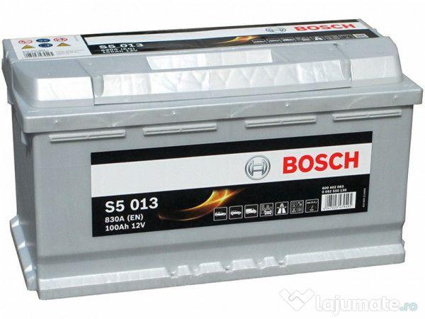 Baterie auto BOSCH S5 100Ah 830A PRODUS NOU