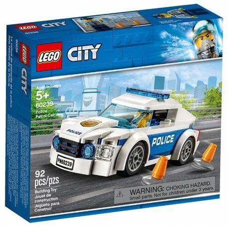 LEGO City 60239 Автомобиль полицейского патруля новый, оригинал!
