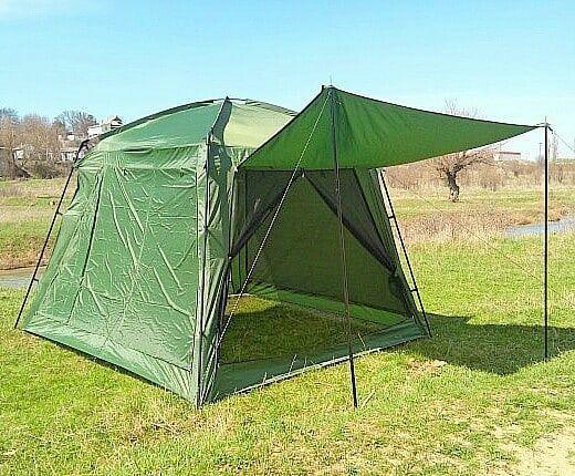 Палатка шатер беседка высокая на 5-6 человек с отличной вентиляцией