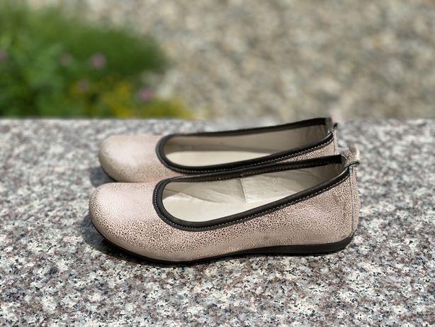 Pantofi fetite Marelbo , piele , nr. 31