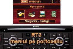 CD harta navigatie Romania Peugeot 207 307 407 RT3 607 807 RT4/RT5