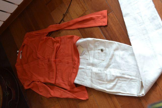Брюки - Massimo Dutti ( Испания), шелк + лен- оригинал, 36 размер