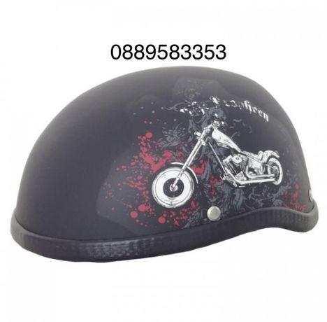 Каска за мотор - 2499 мотор - черен мат
