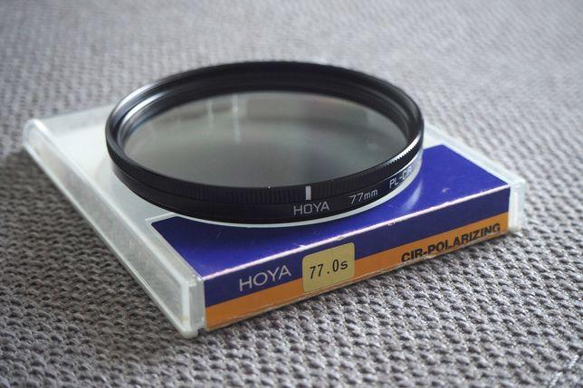 Filtru polarizare Hoya PL-CIR 77mm, made in Japan.