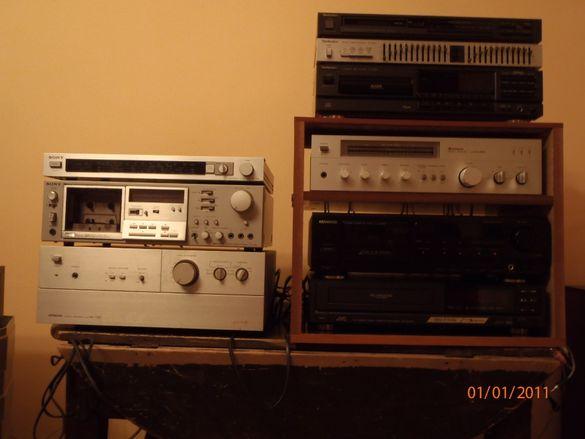HiFi Stereo – Перфектна стереоуредба от 80-те – усилвател, дек, тюнър