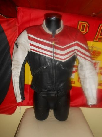 geaca piele leather jacket modeka retro vintage marimea M/L