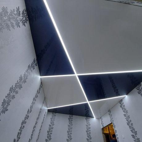Натяжные потолки  1100тг