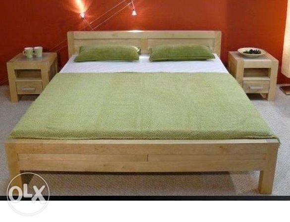 Спални и легла от масив,нови от производител!
