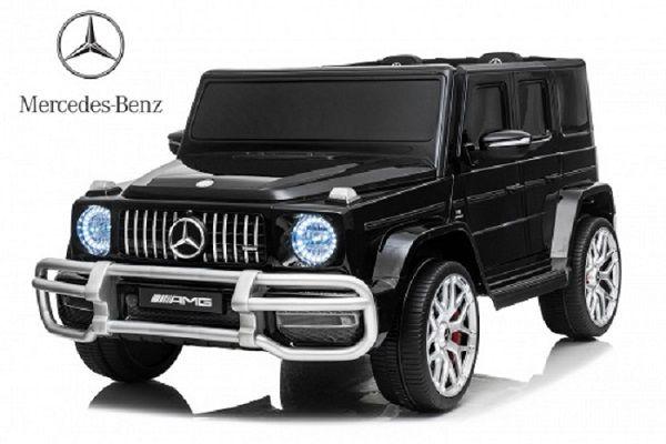Masinuta electrica Kinderauto Mercedes G63 XXL 2X4 PREMIUM #Negru Braila - imagine 1