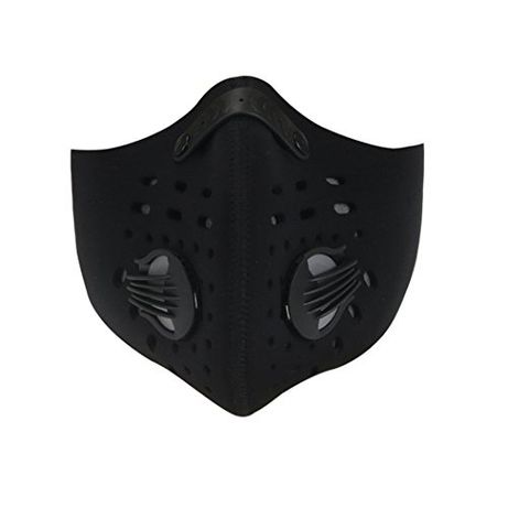 Masca sport din neopren filtru carbon, bicicleta, jogging, trotineta