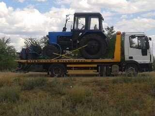 Эвакуатор в Уральске до 5 тонн. Сдвижная гидроплатформа 6 метров