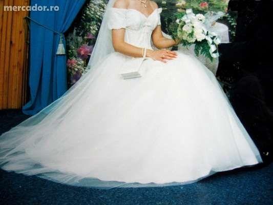 Superba rochie de mireasa, GLORIA Vanderbilt, SUA
