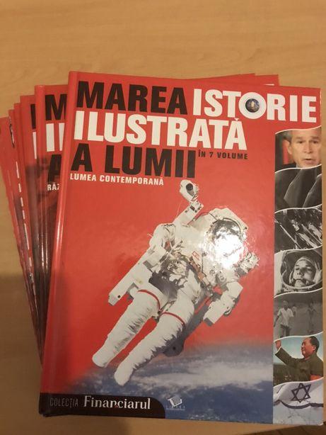 "Intreaga colectie ""Marea istorie a lumii ilustrata"" -7 volume noi"