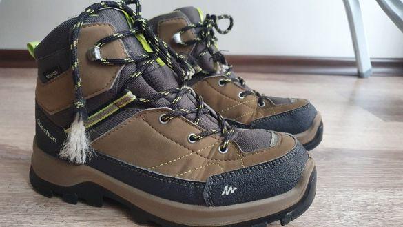Детски туристически обувки Quechua, непромокаеми