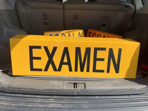 Caseta SCOALA de soferi si EXAMEN / Camion - noi