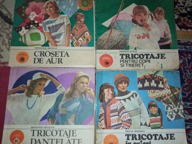 Cărți tricotaje 10 lei bucata