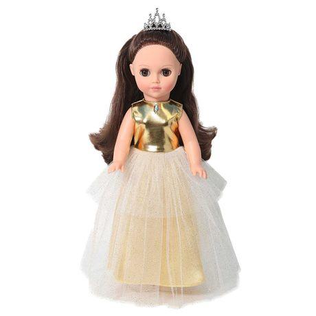 В золотом принцесса кукла куколка 38см винил, пачка  Россия