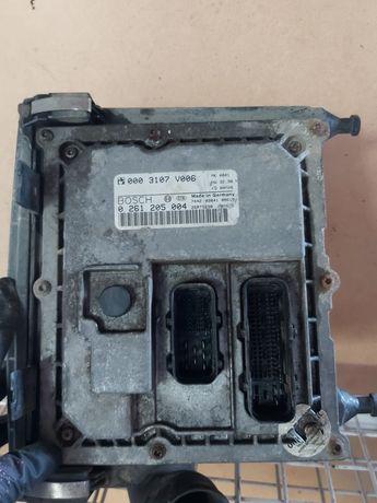 Carcasa filtru aer ECU calculator motor Smart Fortwo 0,6 L benzină