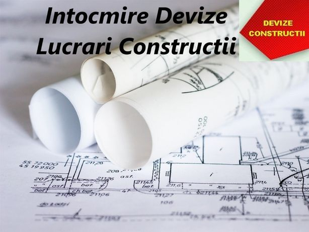 Devizier - Inginer Intocmire Devize, Situatii Lucrari Constructii