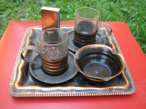 Serviciu pentru cafea / Suport pentru pahare
