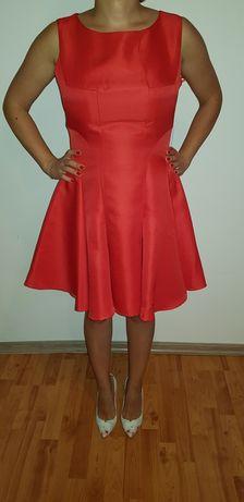 Chi Chi London, rochie noua, Rochie rosie scurta, rochie de ocazie