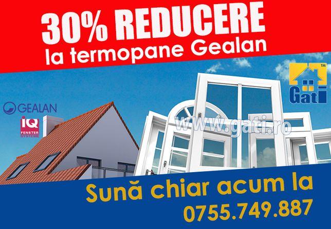 FABRICĂ Termopane Gealan ǁ Acum 30% REDUCERE în CLINCENI Ilfov