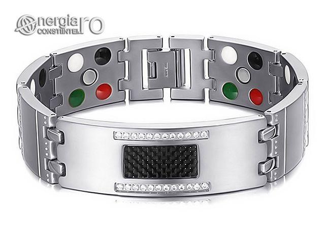 Brăţară Magnetică Terapeutică Energetica TITAN - cod BRA013
