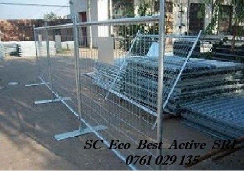 Inchirieri Garduri Mobile - Panou Mare (3,5x2m) - Snagov, IF