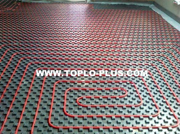 Немска тръба за подово отопление ф16