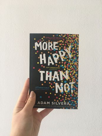 Продавам книгата More Happy Than Not- Adam Silvera