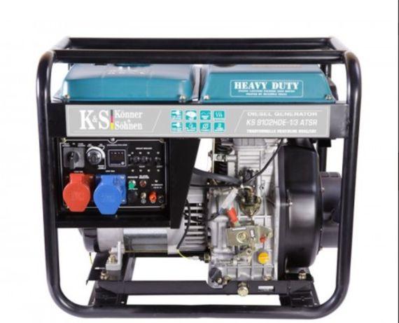 Generator de curent 6.4 kW diesel - Heavy Duty Euro 2 - Konner