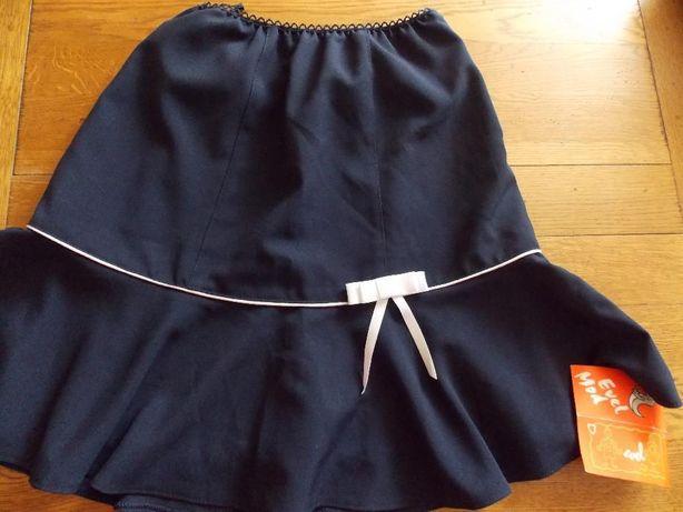 Fusta bleumarin Evel Mod de scoala pentru fete 12-13 ani