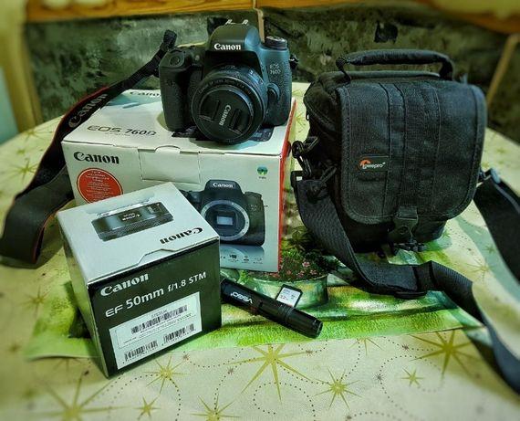 Цифровая зеркальная камера Canon EOS 760D
