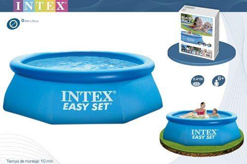 Надувной бассейн Intex Easy Set 244x76