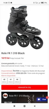 Role performante FR FR1 310 45 ca noi garantie cu 3 roti Twincam MW9