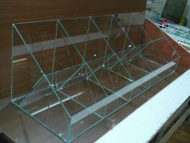 Витрины стеклянные Изготовление, ремонт Конфетницы Сигаретницы