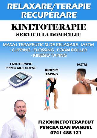 Kinetoterapie | Fizioterapie | Terapie Manuală  | Masaj
