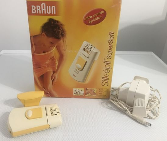 Ultra Gentle Epilator BRAUN Silk-epil SuperSoft
