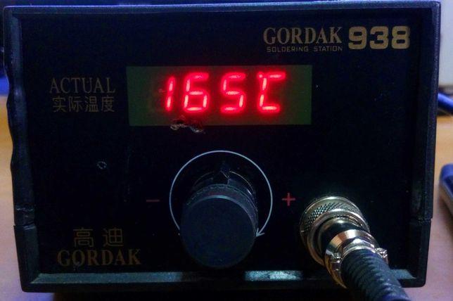 Паяльник с терморегулятором Gordak 938