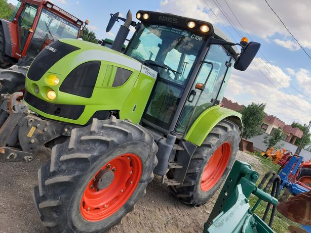 Vand tractor Claas Ares 577 ,110cp,4x4,stare bună recent adus franta