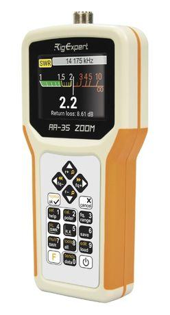 Rig-Expert AA-55 ZOOM+BlueTooth / Антенен анализатор АА-330М