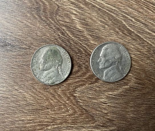 2 monede FIVE CENTS